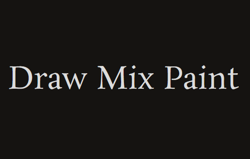 Draw Mix Paint